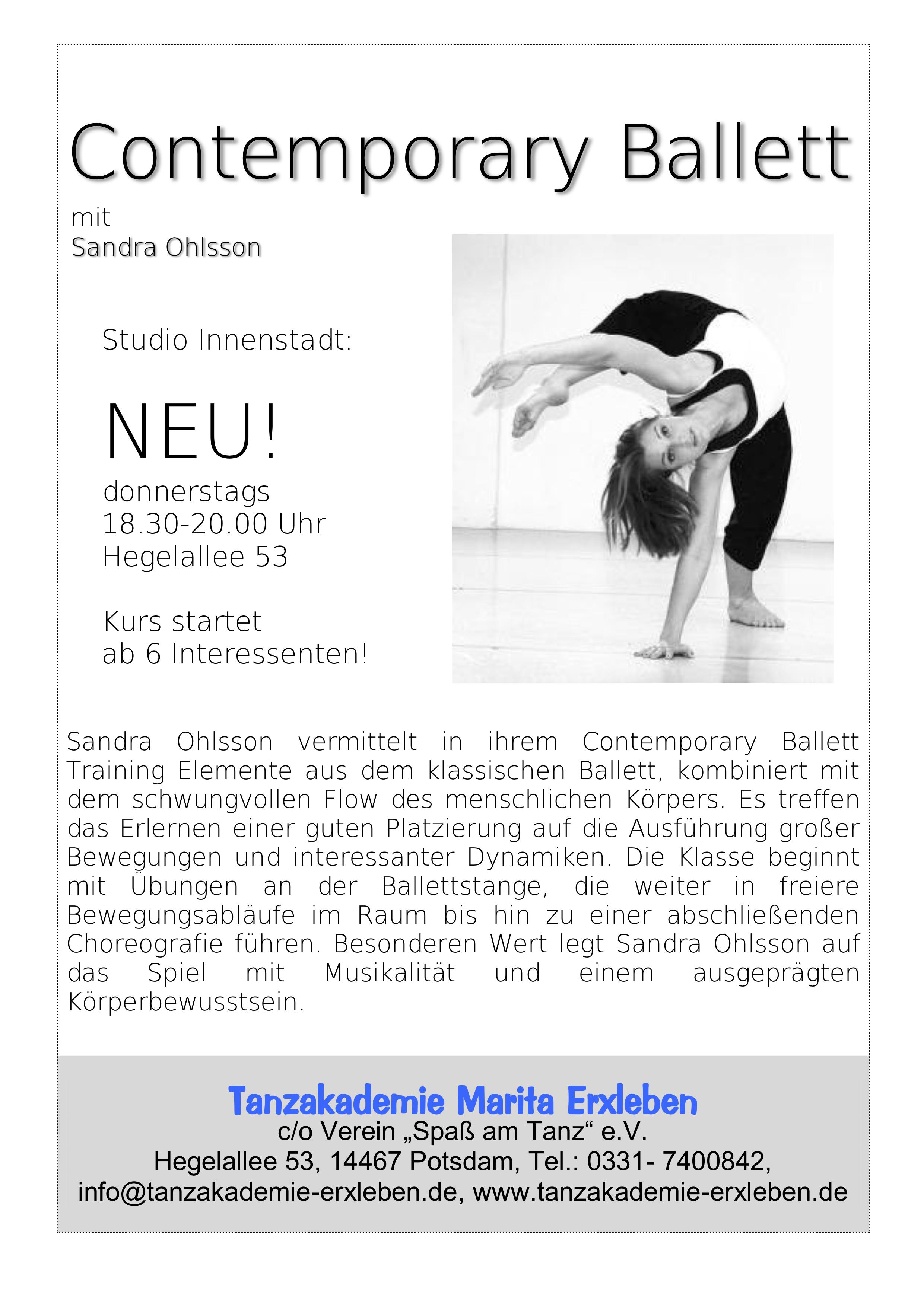 Bild Contemporary Ballett