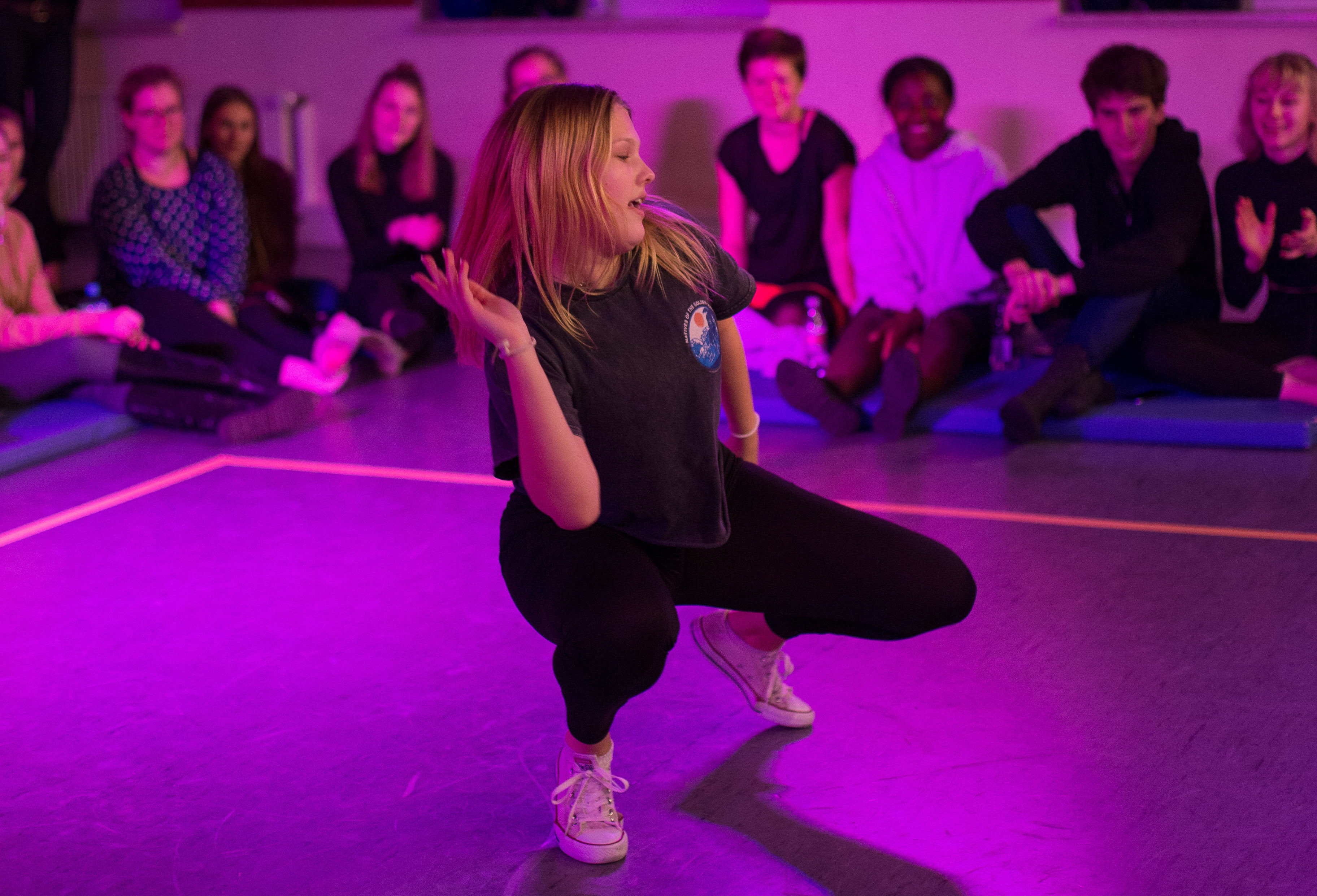 Lässig tanzen wie in die Musik Clips von MTV