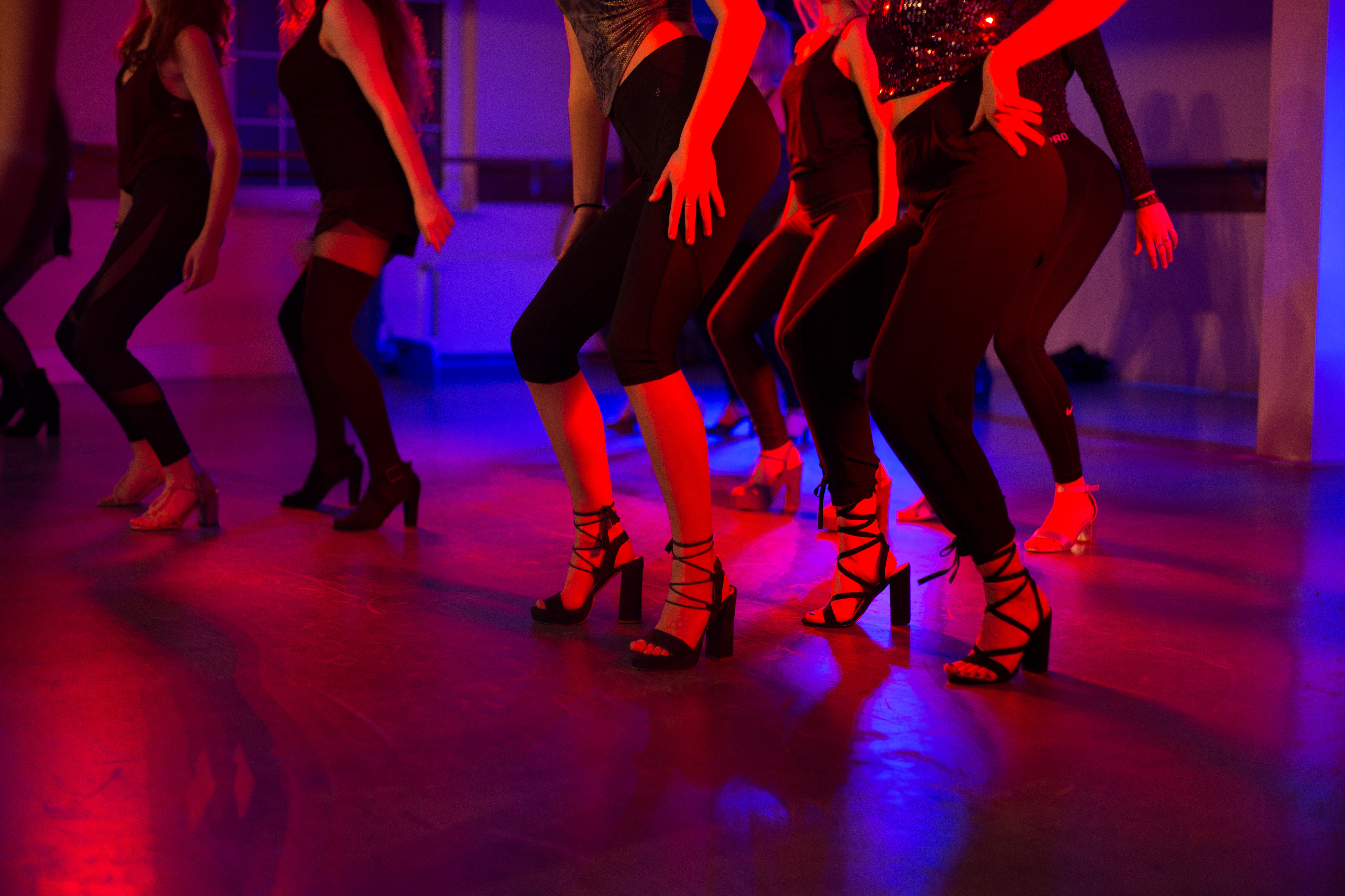 Tanzen mit Absatzschuhen in Potsdam